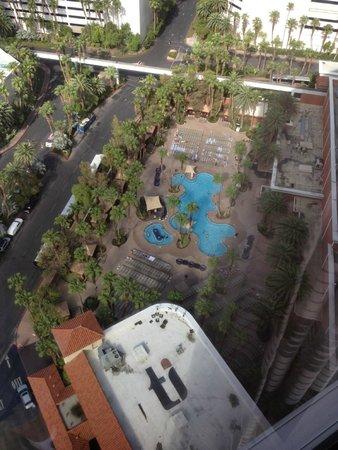 Treasure Island - TI Hotel & Casino : Pool view from room