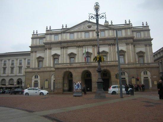 Scala de Milan (Teatro alla Scala) : il Teatro alla Scala