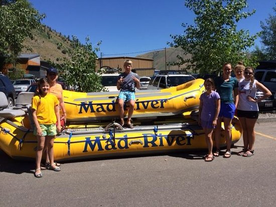 Mad River Boat Trips: Ready for some whitewater action!