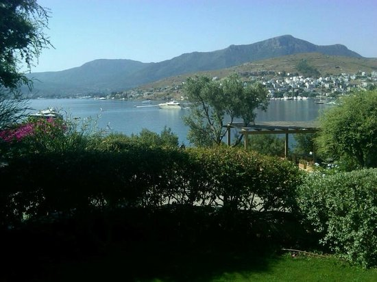 Macakizi Hotel Bodrum : Room with the view!