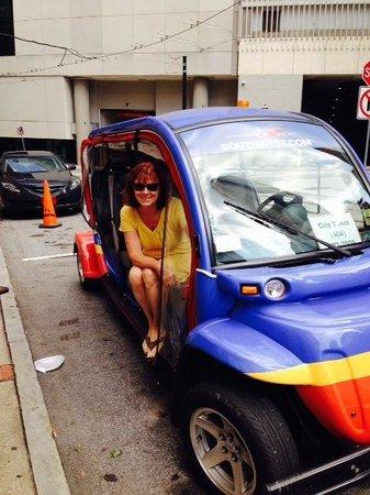 ATL-Cruzers Electric Car & Segway Tours : Fun fun fun way to see the ATL!