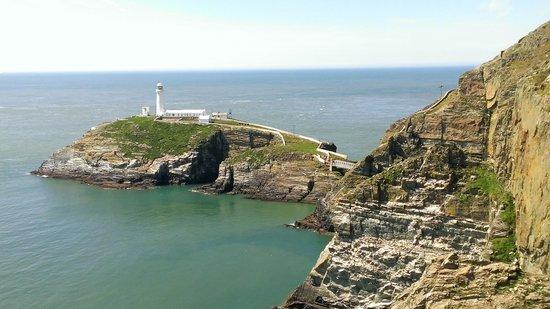 South Stack Cliffs RSPB Reserve: South Stack Lighthouse