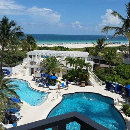 The Savoy Hotel South Beach From Balcony