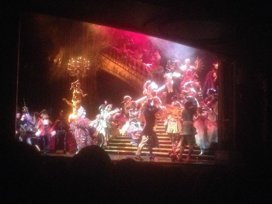 Phantom of The Opera London : Mascarade