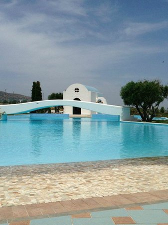 Atrium Prestige Thalasso Spa Resort and Villas : one of the main pools