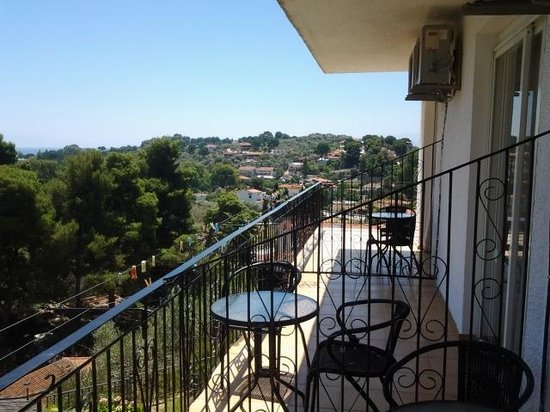 Filia Studios & Apartments: our balcony