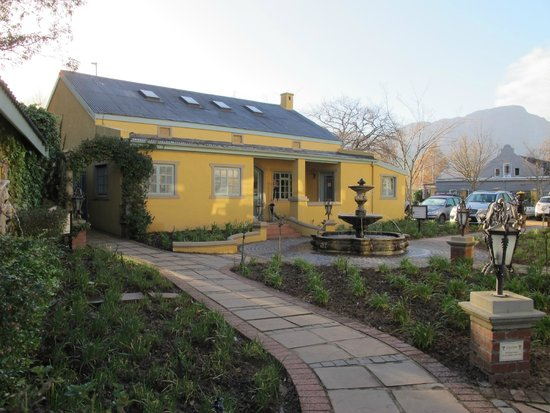 Franschhoek Country House & Villas: our 'cottage'