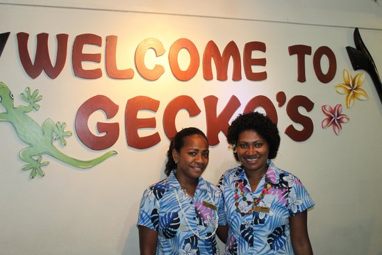 Gecko's Resort: Welcoming staff