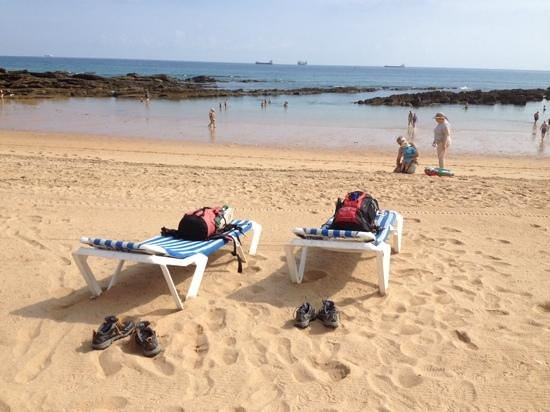 Playa del Camello : relax after camino