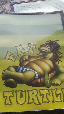 Fat Turtle: Menu Cover