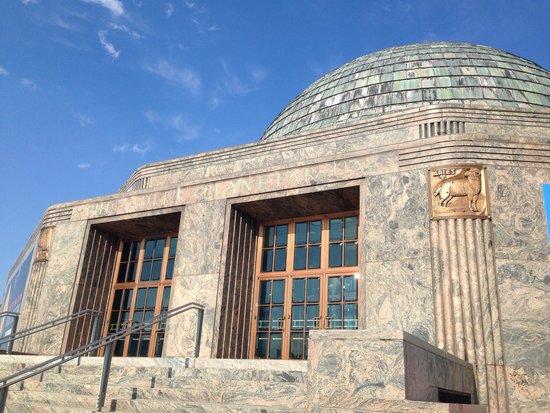 Adler Planetarium: Outside