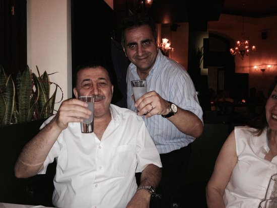 Al Borgo: Marco & turkish sultan. This restaurant's service is marvellous :)