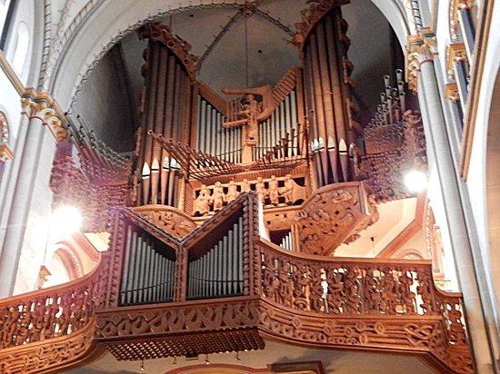 Cathédrale Notre-Dame d'Anvers : Organ Pipes