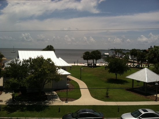 Park Place in Cedar Key : View from room 324.