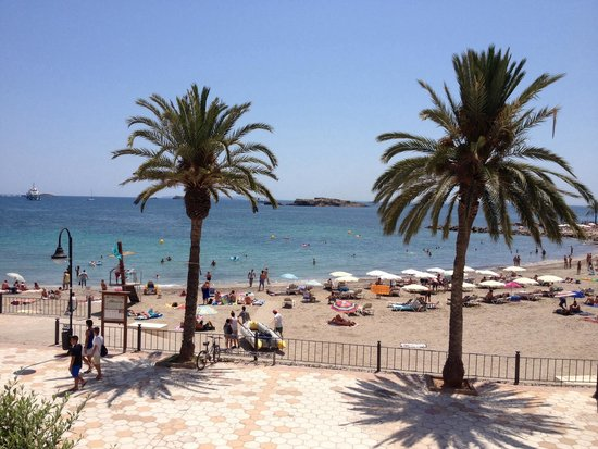 Apartments Mar y Playa: Vu du balcon chambre 109