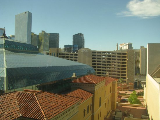 MGM Grand Hotel and Casino: View from room