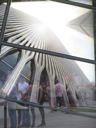 Memorial del 11S: WTC Exterior 9/11 Memorial.