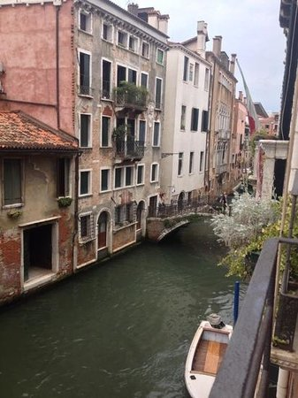 view from junior suite casa pisani canal