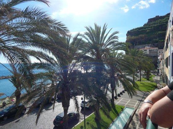 Enotel Baia: Vue du balcon