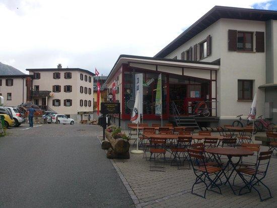 Celerina - Alte Brauerei Hotel-Restaurant - terrace