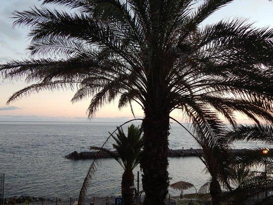 Enotel Baia: Coucher du soleil