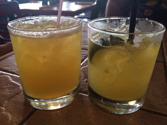 The Pepper: One house Marg and one Tanteo Jalapeño Marg