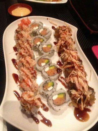 Ichiban Japanese Teppanyaki & Sushi - Bayamon: Mmmm delicioso sushi.