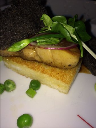 Tree Tops: Fried Foie gras. Fantastic!