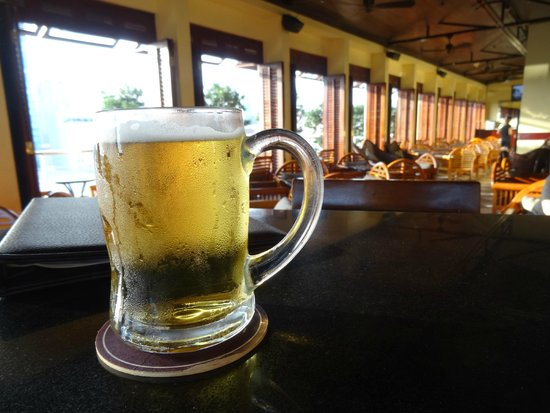 Really COLD beer half price during happy hour  - Picture of Saigon