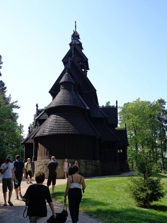 The Norwegian Museum of Cultural History: Stave Church