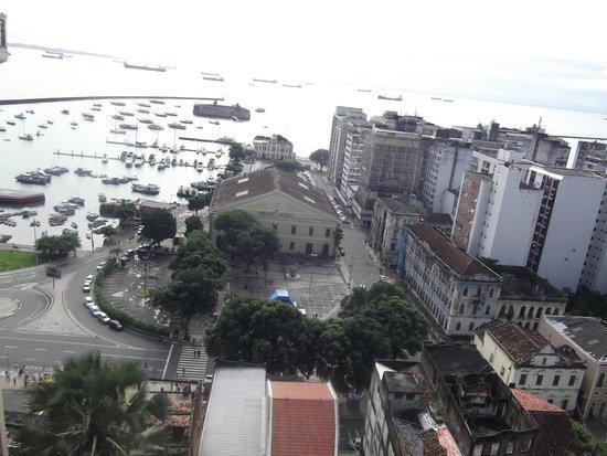 Fernando Bingre-Salvador Tour Guide: An aerial view of the lower city