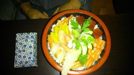 Wasabi d'Azur: CHIRACHI SUSHI