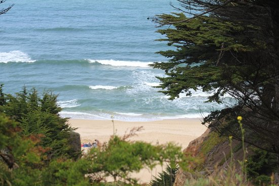 Montara State Beach: from top