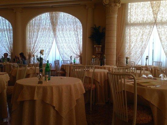 Hotel Europa Terme: Sala da pranzo