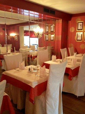 Hotel Sonnblick: Um dos espaços para refeições.