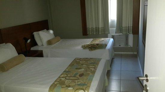 Copacabana Suites By Atlantica: camas adecuadas