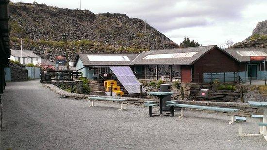 Llechwedd Slate Caverns: The mine workshops