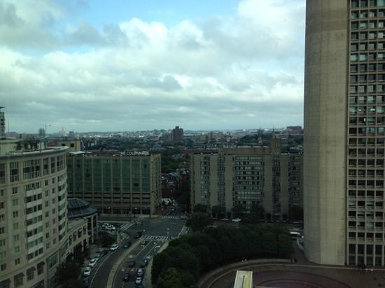 Sheraton Boston Hotel: the view