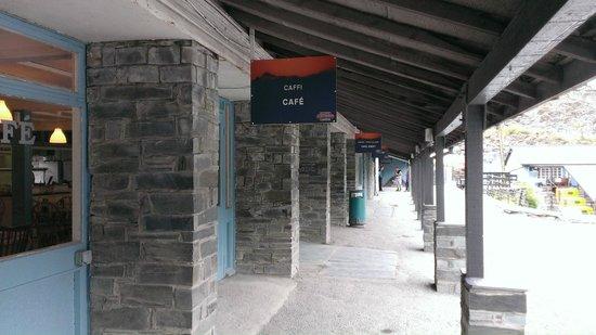 Llechwedd Slate Caverns: Cafe