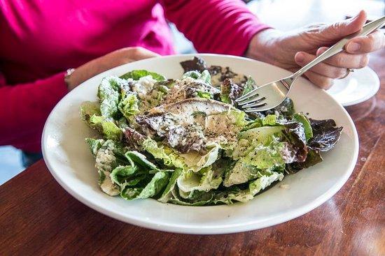 Redfish: Caesar Salad