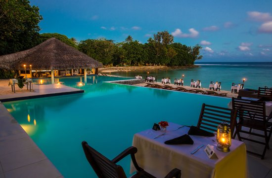 La table sur la plage - Breakas Resort