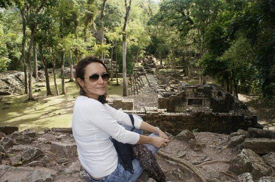 Les Ruines de Copan : Disfrutando de la esplendida Copan