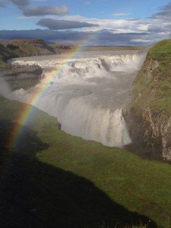 Gullfoss: Der Wasserfall