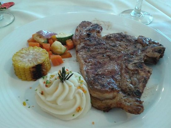 Playacar Palace: steak