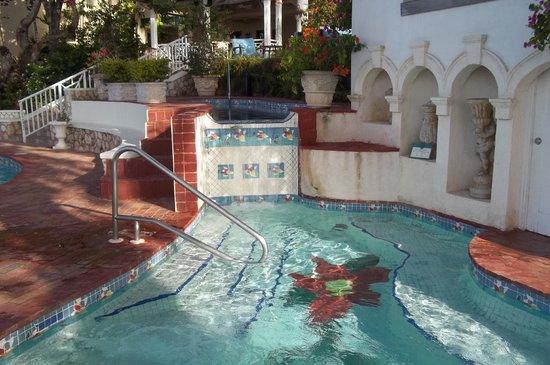 Sandals Royal Plantation: Hot tub