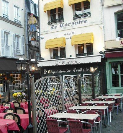 Le Corsaire : fachada