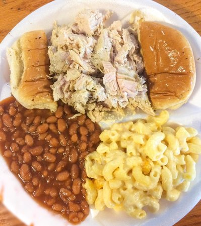 Smoked Turkey Mac And Cheese Fridays And Baked Beans
