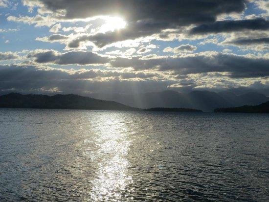 Flathead Lake State Park: morning has broken