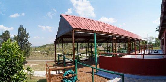 Rumors Resort: Our breezy open deck