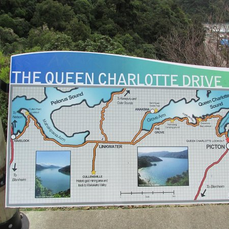 Queen Charlotte Track : Hug the coast on this windy road!